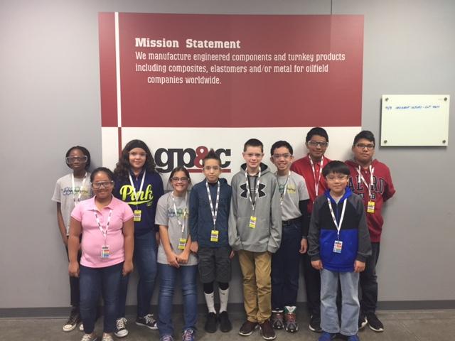 STEM student tours